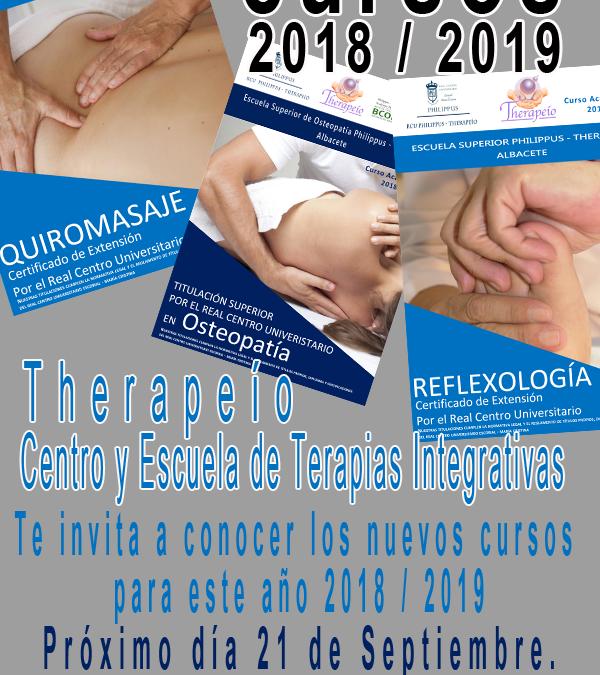Presentación Cursos 2018/2019